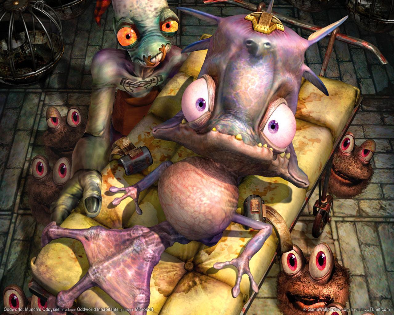 Munch's Oddysee